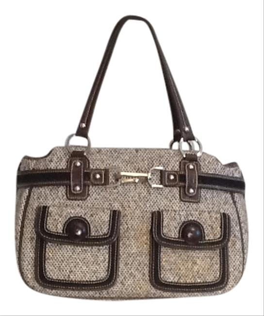 Rafe Donegal Multicolor Tweed Shoulder Bag Image 1