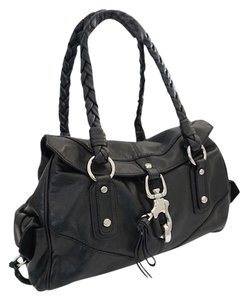 Francesco Biasia Rock N Roll Leather Shoulder Bag