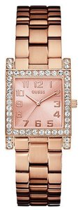 GUESS GUESS Female Crystal Watch U0128L3 Rose Gold Analog