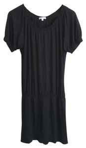 Vince short dress Black Lbd Designer Classic Rayon Barneys on Tradesy