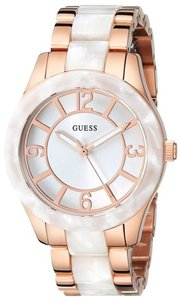 Guess Guess Female Dress Watch U0074L2 Rose Gold Analog