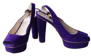 Prada purple Platforms