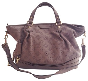 Louis Vuitton Mahina Mahina Leather Satchel