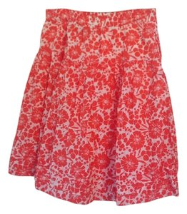 Gap Skirt Reddish orange