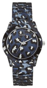Guess Guess Female Casual Watch U0425L1 Blue Analog