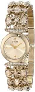 Guess Guess Female Dress Watch U0220L2 Gold Analog