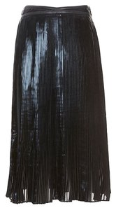 Ohne Titel Pleated Skirt black