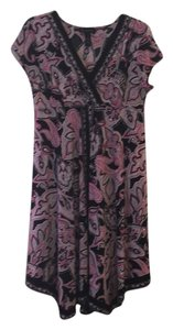 INC International Concepts short dress Pink and black paisley on Tradesy