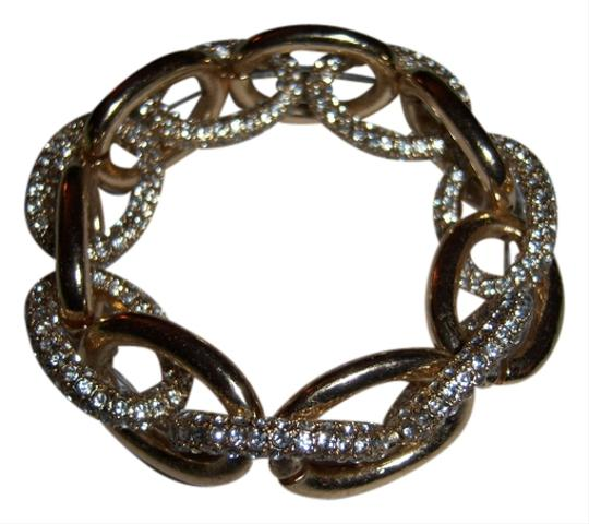 Other Natasha accessories goldtone and crystal bracelet