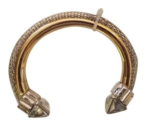 Other NEW Two Tone Gold & Silver Cuff Bracelet