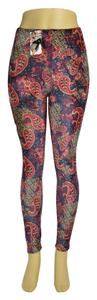 Stretch Pattern Leggings Jeggings