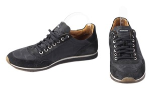 Magnanni Suede Nylon Sneakers Black Athletic
