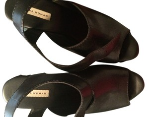 Zara Patent Leather Black Mules