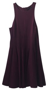 Tibi short dress Wine on Tradesy