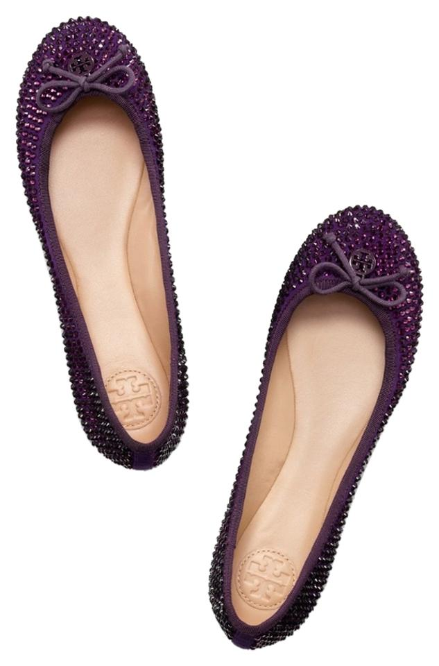 c803696ea3c3 Tory Burch Chelsea Crystal Bling Ballet Flats Size US 11 Regular (M ...