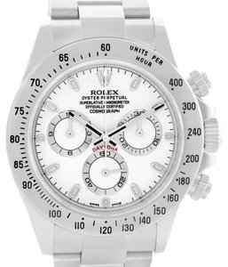 Rolex Rolex Cosmograph Daytona White Dial Steel Mens Watch 116520 Year 2007
