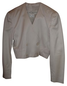Escada Elegant Germany Medium Button Down Shirt Off white