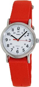 Timex Timex T2N870 Women's Weekender Silver Analog Watch