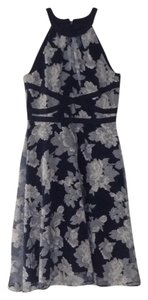 Adrianna Papell short dress Navy on Tradesy