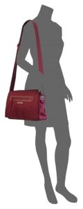 Longchamp Pliage Neo Burgundy France Cross Body Bag