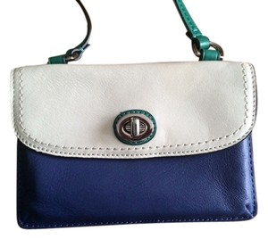 Coach Dylan Blue Leather Cross Body Bag