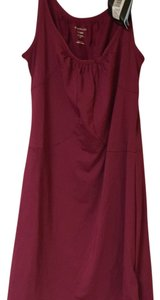 Burgundy Maxi Dress by ExOfficio
