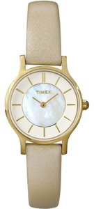 Timex Timex T2P313 Women's Classics Gold Analog Watch