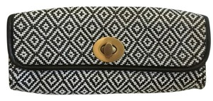 Big Buddha Black/white Clutch