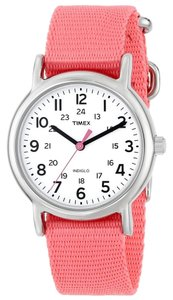Timex Timex T2P368 Women's Weekender Silver Analog Watch