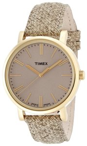 Timex Timex T2P173 Women's Gold Analog Watch