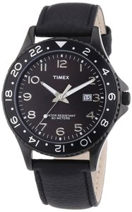 Timex Timex T2P176 Men's Black Analog Watch