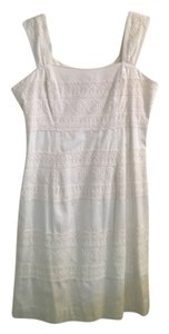 Lilly Pulitzer short dress White Lace Bridal Sorority on Tradesy