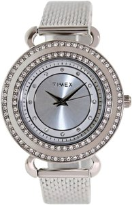 Timex Timex T2P231 Women's Classics Silver Analog Watch