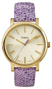 Timex Timex T2P326 Women's Gold Analog Watch