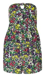 Topshop Floral Summer Bandeau Dress