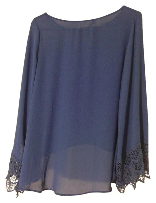 Preload https://item5.tradesy.com/images/audrey-31-blue-blouse-size-4-s-1364359-0-0.jpg?width=400&height=650