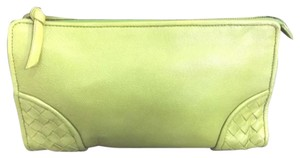 Bottega Veneta Bottega Veneta Cosmetic Pouch. Clutch. Makeup Bag. Pouch
