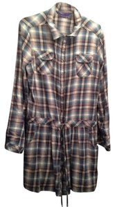 Miley Cyrus & Max Azria Button Down Shirt
