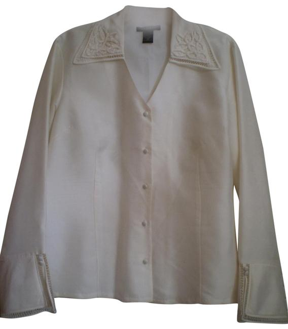 Preload https://item4.tradesy.com/images/silkland-off-white-like-new-long-sleeved-silk-blouse-size-16-xl-plus-0x-136443-0-1.jpg?width=400&height=650