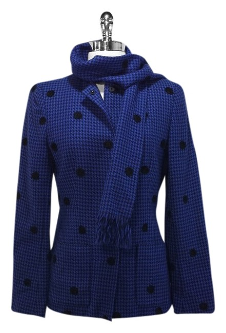 Carlisle Wool Blue/Black Jacket