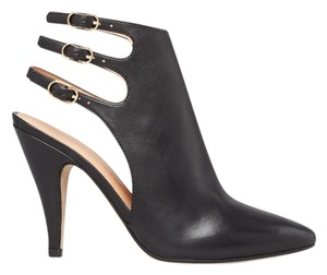 Sigerson Morrison Verna Leather Booties Black Pumps