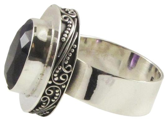 Preload https://item2.tradesy.com/images/island-silversmith-island-silversmith-huge-amethyst-925-sterling-silver-scroll-ring-sz-9-0101p-free-shipping-1364566-0-1.jpg?width=440&height=440