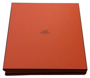 Hermès Two Large Hermes Square Gift Boxes
