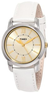 Timex Timex T2N682 Women's Elevated Classics Silver Analog Watch