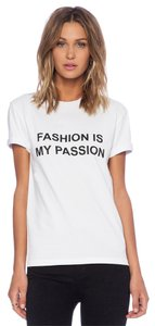 Anna K Fashion Revolve Passion T Shirt White