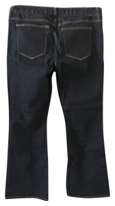 Gap Trouser/Wide Leg Jeans-Dark Rinse