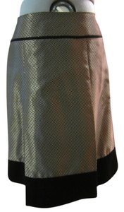 Banana Republic Skirt black and gold