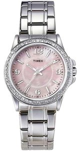 Timex Timex T2P256 Women's Swarovski Silver Analog Watch