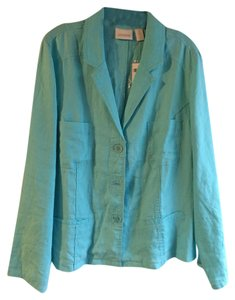 Chico's Aqua Breeze Blazer