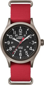 Timex Timex TW4B04500 Expedition Scout Men's Red Analog Watch